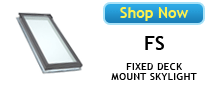 Velux FS No Leak Deck Mounted Skylights Available at Best Skylights.com
