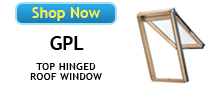 Velux GPL Top Hinged Roof Windows Available at BestSkylights.com
