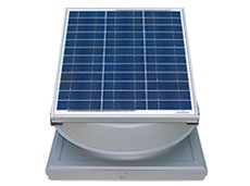 36 Watt Curb Mount Solar Attic Fan by Natural Light