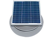 36 Watt Solar Attic Fan by Natural Light
