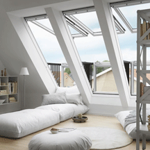 Velux Cabrio Balcony Roof Windows